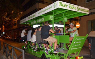 Beer Bike llega a la ciudad de Granada